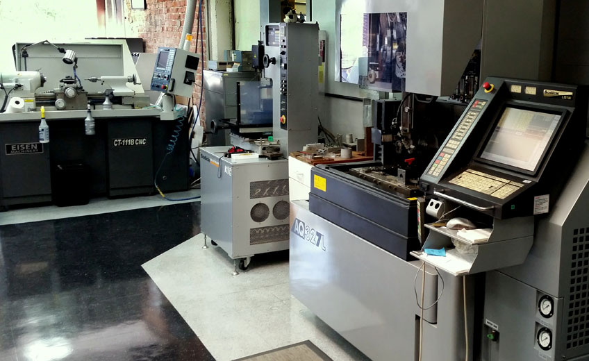 Precision tooling services machine shop
